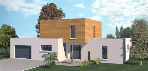 plan de maison 4 chambres avec 騁age construction 86 fr gt maison contemporaine étage