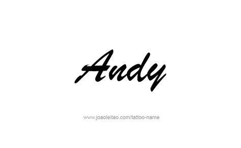 andy  tattoo designs