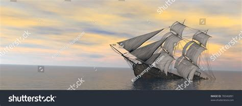 Sinking Boat Surrounded By Sharks by Sinking Ship Vas Sea Stock Illustration 78346891
