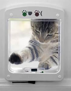 Türschutzgitter Mit Katzenklappe : petporte petport chip microchip gechippte katzen the microchip cat flap katzent re ~ Whattoseeinmadrid.com Haus und Dekorationen