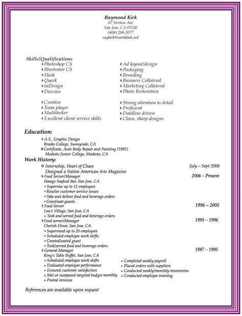Skills To Put In Resume by Skills To Put In A Resume Resume Badak