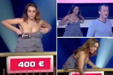 Wheel Of Fortune Swinger on air wardrobe malfunctions
