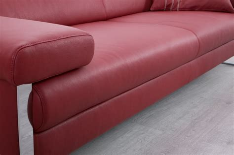 canapes cuirs canapé cuir design 3 places dreamline assises motorisées