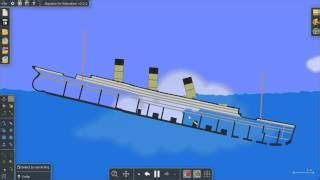 sinking ship simulator the rms titanic watch the video