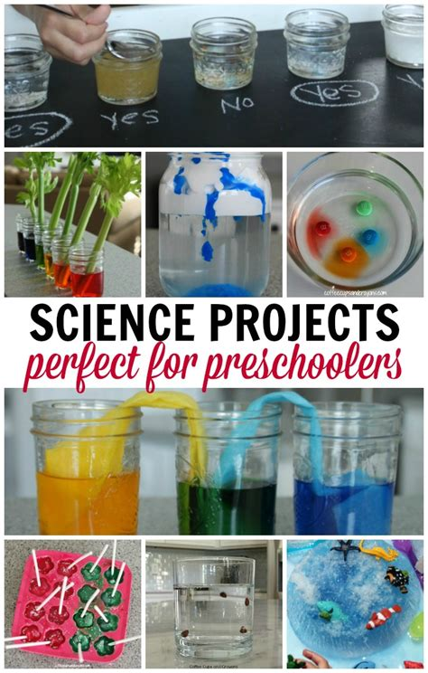 science projects for preschoolers coffee cups and crayons 279 | Science projects for preschoolers Simple and super fun
