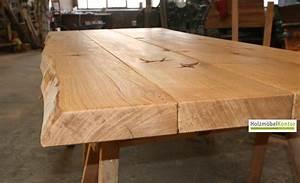 Tischplatte Massivholz Baumkante : tischplatte massivholz baumkante ~ Indierocktalk.com Haus und Dekorationen