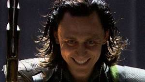 This evil smile turns me on wildly! | Loki and Tom ...