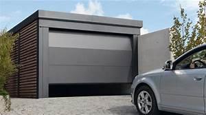 porte de garage sectionnelle avec porte blindee fichet With porte de garage sectionnelle avec fichet