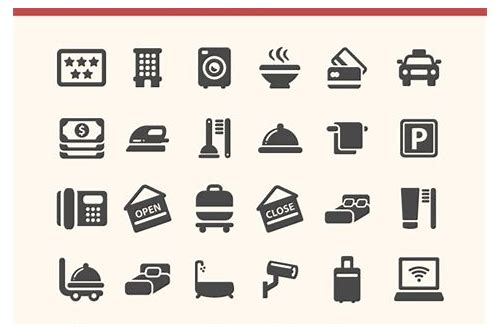 hospitality icons free download