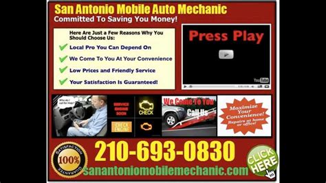 mobile auto mechanic  san antonio texas car repair