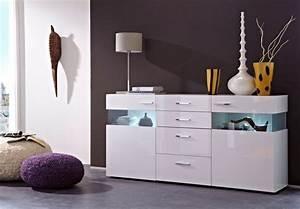 Kommode Weiß Mit Glas : magdalena sideboard kommode schrank regal dekor mdf wei hochglanz glas grau ebay ~ Bigdaddyawards.com Haus und Dekorationen