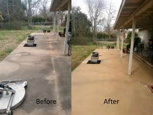 Outdoor Concrete Acid Stain Gallery