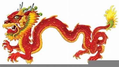 Clipart Dragon Chinese Clip Clker Domain Cliparts