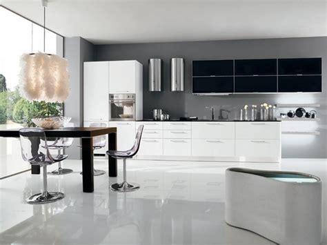black  white kitchen decor  feed exclusive  modern
