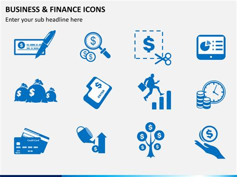 business  finance icons powerpoint sketchbubble