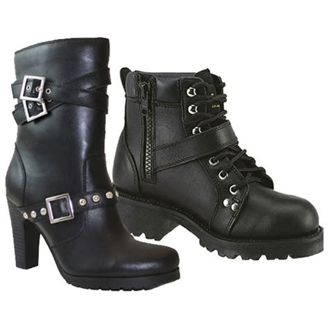 womens motorcycle riding boots with heels women 39 s leather motorcycle boots