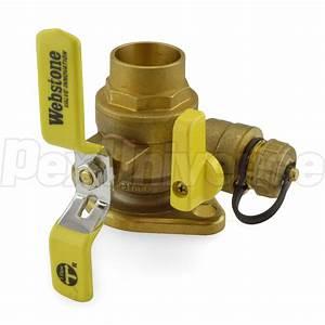 Webstone 51415  1 4 U0026quot  Sweat Isolator Flange Valve W