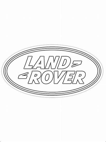 Rover Land Coloring Pages Printable Brand Emblem