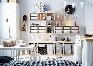 idee rangement chambre enfant avec meubles ikea With what kind of paint to use on kitchen cabinets for nautical wall stickers