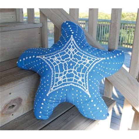 starfish shaped pillow starfish shaped indoor outdoor pillow