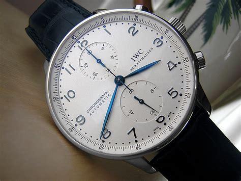 iwc chronograph silver omega speedmaster professional moonwatch vs iwc portuguese