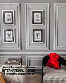 images of beautiful home interiors decorative wall molding or wall moulding designs ideas