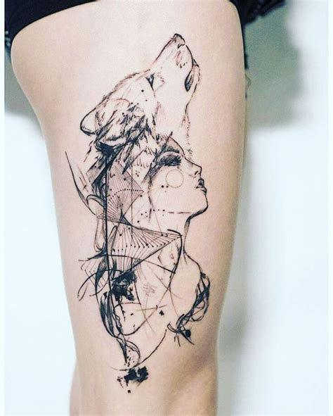 powerful style statement  wolf tattoos ideas