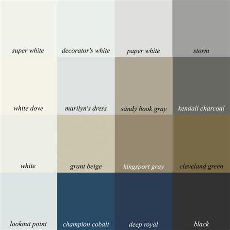 neutral beige gray dark blue color palette beige decor laurel home