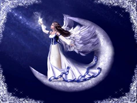 moon and stars fairy l catch a falling star wallpaper and background image