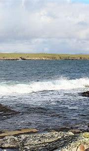 Portnoo Harbour Wave 7 Photograph by Eddie Barron