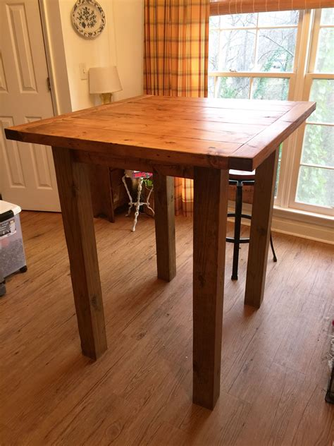 ana white small pub table diy projects small pub