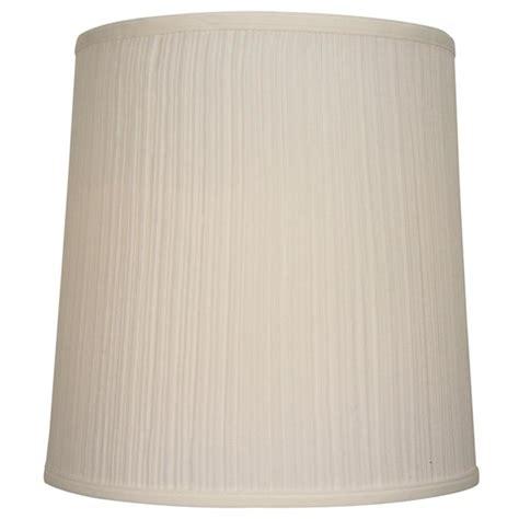 14 inch drum l shade shop allen roth 14 in x 14 in beige fabric drum l
