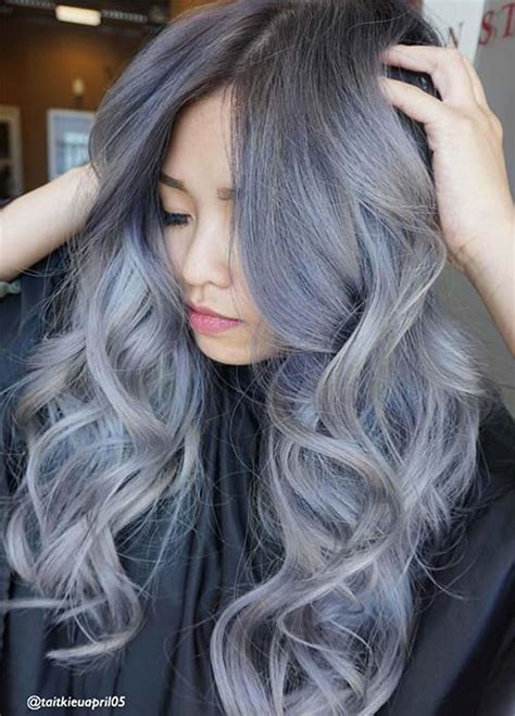 hair colors ideas gray hair color ideas 2018 2019 hair tutorial