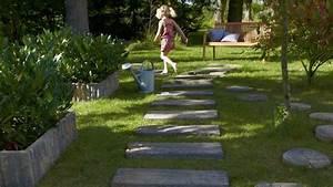 creer un chemin dans son jardin les bonnes idees de With attractive allee de jardin originale 1 allee jardin en gravier ardoise et bois creer une allee