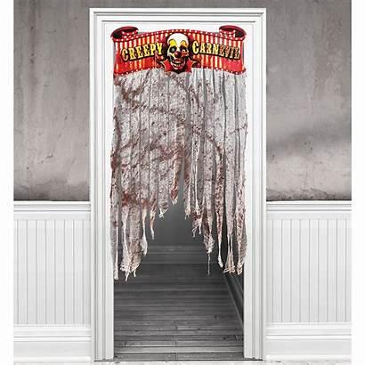 Carnival Creepy Party Doorway Curtain Decoration Door