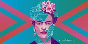 Abstract The Art Of Design Online Español Low Poly High Poly Portraits Artists On Behance
