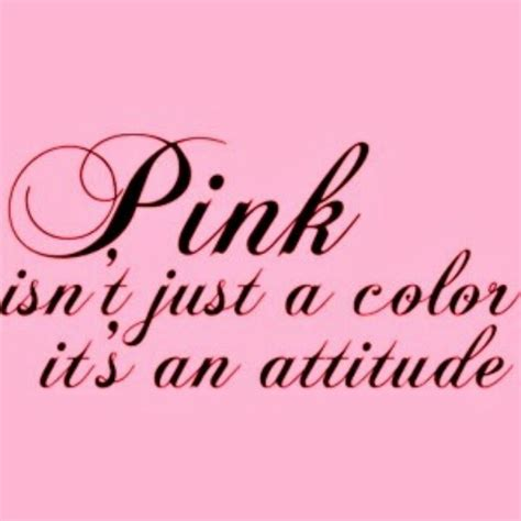 Cute Color Pink Quotes