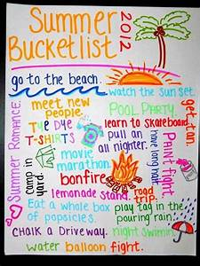 Summer Bucket list – Giggles and Laundry