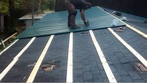 how to metal roof for cheap youtube With discount metal roofing supply