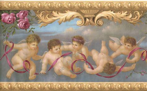 victorian architectural antique molding angels cherubs