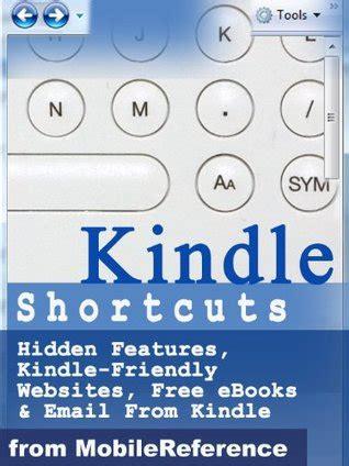 kindle shortcuts hidden features kindle friendly