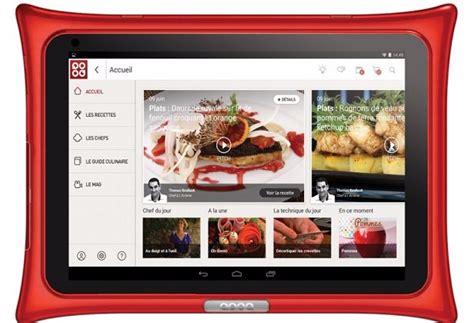 tablette de cuisine qooq la nouvelle tablette qooq v4 compagne des de
