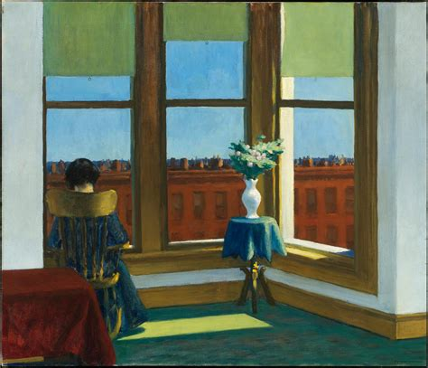chambre à york edward hopper room in museum of arts boston