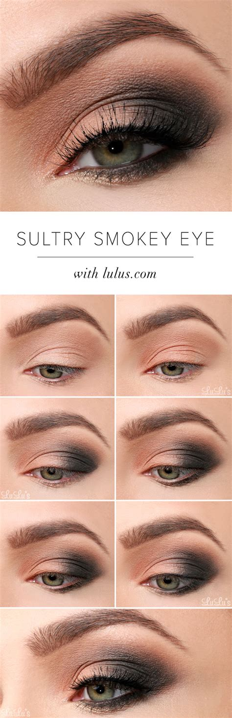 lulus   sultry smokey eye makeup tutorial lulus
