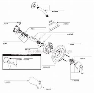 Moen 82910brb Parts List And Diagram   Ereplacementparts Com