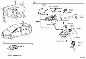2017 Toyota Prius Prime Cable Assembly  Electric Vehicle