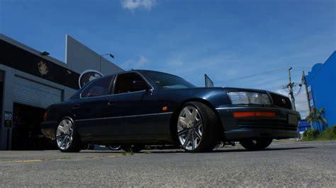 "Lexus Ls400 Rolling 20"" Staggered Zumbo Kuverup Wheels"