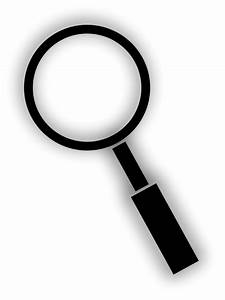 Magnifying Glass Free Vector / 4Vector