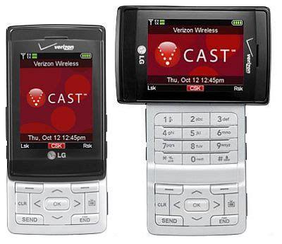 cast phone to tv verizon starts shipping lg vx9400 v cast mobile tv phone