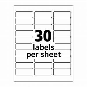 clear inkjet address labels 1quot x 2 5 8quot 300 labels With avery 3x3 labels